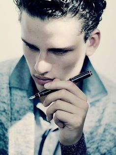 Simon Nessman by Paolo Roversi for the Cerruti 1881 Spring Summer 2011 campaign