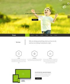 Vernum-Responsive OnePage Parallax WordPress Theme