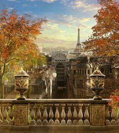 осень в париже - Самое интересное в блогах