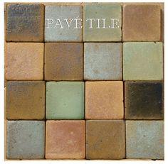South Beach 1930 Outdoor Living European Terra Cotta Tile Collection
