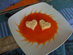 Le 1000 fantasia di Annaly - Risotto alla crema di formaggio su vellutata rossa