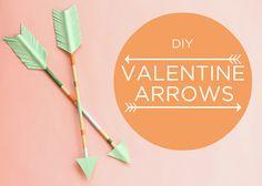 DIY des flèches d'amour