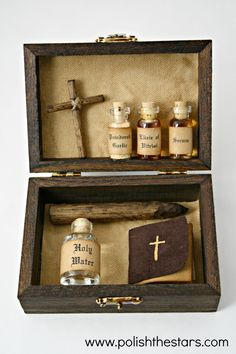 Mini Vampire Killing Kit by PolishTheStars on Etsy, $20.00
