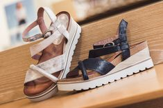 Shoes With Jeans, Wedges, Shopping, Style, Fashion, Jeans Shoes, Leather, Spring Summer, Sandals