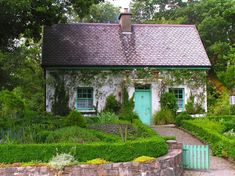 Irish cottage garden