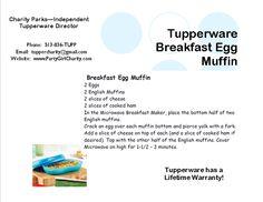Tupperware Breakfast Maker! www.partygirlcharity.com