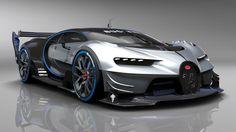 Bugatti Vision Gran Turismo Show Car Revealed at Frankfurt Motor Show Bugatti Veyron, Bugatti Cars, Audi, Porsche, Exotic Sports Cars, Exotic Cars, Maserati, Ferrari F40, Lamborghini Gallardo
