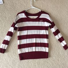 Hollister Striped Sweater Good condition Hollister Sweaters Cardigans
