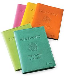 Passport covers are fun accessories