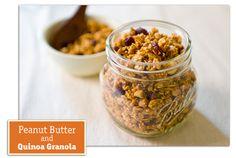 500 Best Quinoa Recipes: Interviewing the Talented Camilla — Part Two + Peanut Butter and Quinoa Granola Recipe