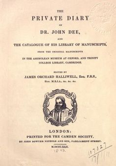 The private diary of Dr. John Dee : and the cat...