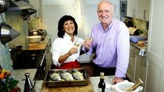 lamb stuffed aubergines with cheese: Rick Stein's Spanish Christmas