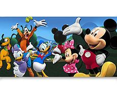 Mickey Mouse Clubhouse HUGE Wall Decoration #2 *NEW* backdrop