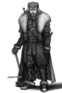 Fili....if he was ever crowned King Under the Mountain. I just finished reading the book............ This picture pains me so much.