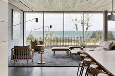 Silver Linings by Rachcoff Vella Architecture Australian Architecture, Minimalist Architecture, Interior Architecture, Interior Design, Timber Planks, Passive Design, Building A New Home, Concept Home, Beautiful Homes
