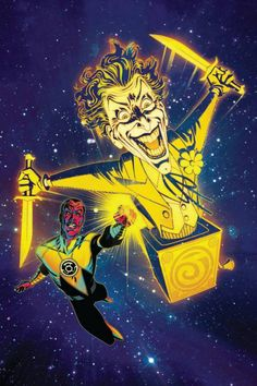 Sinestro #12 - The Joker variant cover by Joshua Middleton *