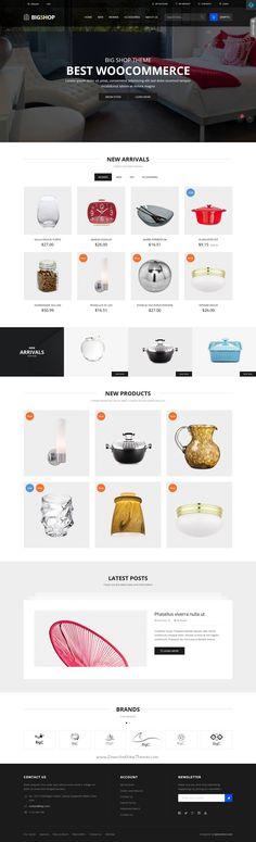BigC is a modern and elegant design #Prestashop theme for multipurpose #eCommerce #website with 4 different homepage layouts download now➯ https://themeforest.net/item/bigc-premium-prestashop-theme/17086033?ref=Datasata