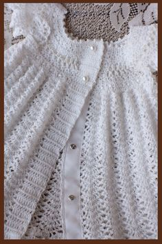 Celestial Gown Crochet Pattern Baby Baptism Christening Gown Sizes NB - 12 mos