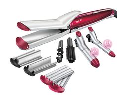 Babyliss Multistyler Style Mix 10 in 1 Curling Iron Hairstyles, Curled Hairstyles, Hippie Look, Good Curling Irons, Best Hair Straightener, Different Hair Types, Wand Curls, Can Opener, Wands
