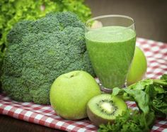 Ingredients for Fresh & Healthy Vegetable Smoothies
