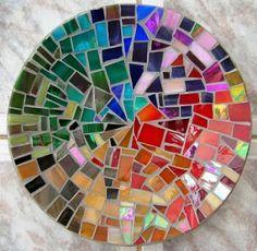 mosaic crab glass bowl - Google Search