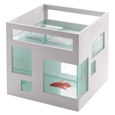 Fishhotel Fishbowl // this really challenges the boring old classic fishbowl design #productdesign