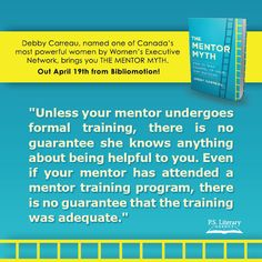 #TheMentorMyth by Debby Carreau is now available!