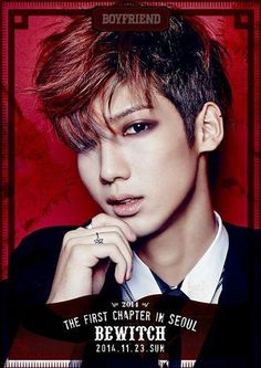 "till first solo concert ""Bewitch"", individual poster release - Youngmin! Boyfriend, the first chapter in Seoul ""Bewitch""] trans: youngmineekkeo. Boyfriend Kpop, Boyfriend Memes, Youngmin Boyfriend, Pop Group, Girl Group, Jo Youngmin, Korean K Pop, U Kiss, How To Have Twins"