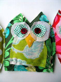 owl bunting for a nursery