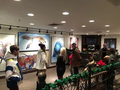 Teshia Holiday Art Show at Park City Fine Art & Prospect Gallery Park City, Wyoming, Galleries, Original Paintings, Art Gallery, Fine Art, Holiday, Art Museum, Vacations