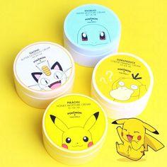 Tony Moly x Pokémon Go moisture creams
