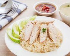 Recette Riz aux herbes et blanc de poulet à la vapeur Cabbage, Grains, Rice, Meat, Chicken, Vegetables, Food, Steamed Chicken, Parboiled Rice