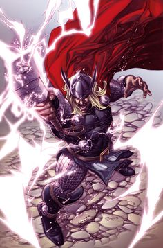 Thor issue 1 cover  by *sjsegovia