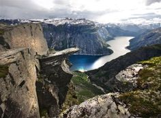Transport and a hiking adventure of a lifetime on the iconic Trolltunga, Norway on 1 ticket! Fjord cruise, transport, and guided hiking. Start: Bergen, Stavanger or Oslo. Hiking Norway, Norway Travel, Norway Tours, Alesund, Lofoten, Beautiful Places To Visit, Places To See, Norway In A Nutshell, Norway Fjords