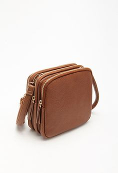 Multi-Compartment Crossbody | Forever 21 - 1000133312