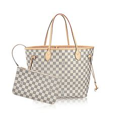 Neverfull MM Lona Damier Azur MUJER BOLSOS | LOUIS VUITTON