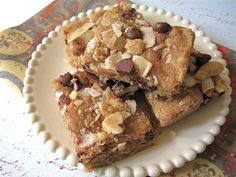 Chocolate chip Blondies - The Sensitive Pantry - Gluten-free, Egg-free, Dairy-free, & Vegan Recipes