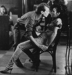 Still of Steve Buscemi and Debi Mazar in Trees Lounge (1996)