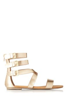 Day Dreamer Strappy Sandals | FOREVER21 Strapped in #FauxLeather #Buckles #Sandals
