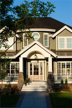 "Fabulous front porch with a ""welcome home"" feel."