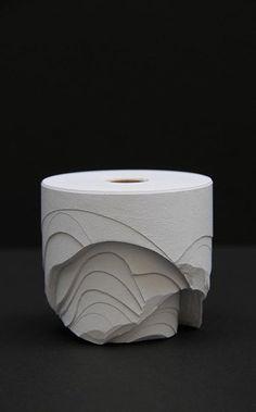 idreamcreateandadmire: Carved rolls of paper by Ana Bidart. Uruguay.