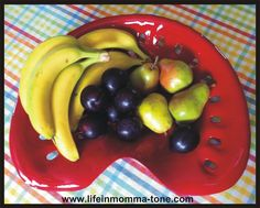 Tractor Seat Fruit Bowl  re-purposed and loved!