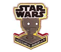Star Wars Smuggler's Bounty Souvenir Pin Badge K2-SO Mint Condition K2SO