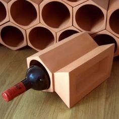 home .amazon di Cranville wine racks portabottiglie in cotto componibile 12 a…
