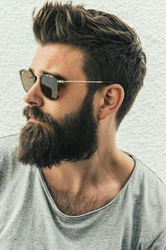 Bart Shampoo und Conditioner Set - Best Beard Shampoo for Treating Beard Dandruff - Haar Beard Styles For Men, Hair And Beard Styles, Curly Hair Styles, Hair Style For Men, Short Beard Styles, Mens Hairstyles With Beard, Haircuts For Men, Hipster Hairstyles Men, Mens Hair With Beard