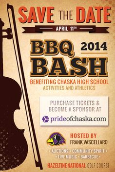 2014 Chaska BBQ Bash! Be there or... don't eat barbecue...