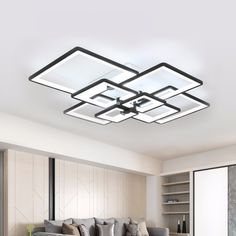 Ceiling Lights & Fans Romantic Birds Nest Modern Led Ceiling Light Living Room Fixture Fixture Bedroom Kitchen Surface Mount Embedded Panel Remote Control