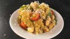 Michael Symon's Quinoa Risotto with Zucchini and Tomatoes