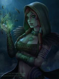 Morrigan the witch of the Woods