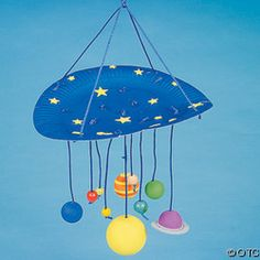 Solar System Paper Mobile - Pics about space School Age Activities, Space Activities, School Themes, Space Classroom, Classroom Themes, Science Projects, School Projects, Space Bulletin Boards, Solar System Mobile